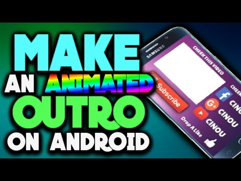 how to create animated text in android