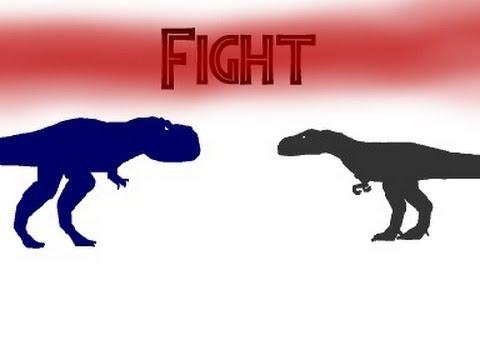 Dinosaur Territories - Tyrannosaurus vs Nanotyrannus