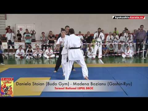Daniela Stoian (Budo Gym) -   Madena Bozianu (Goshin-Ryu)