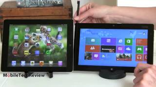 iPad 4 vs Windows 8 Intel Atom Tablets Comparison Smackdown