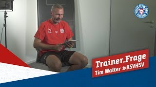 Trainer.Frage 19 mit Tim Walter #KSVHSV