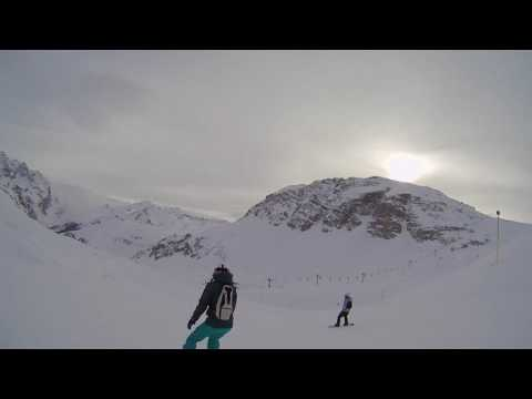 Evolution 2 Val d'Isère - Nico's group 22nd of January 2017