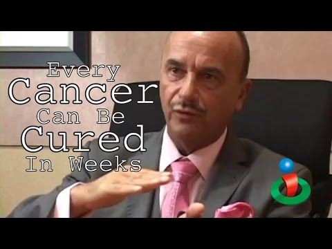 Every Cancer Can be Cured in Weeks explains Dr. Leonard Cold