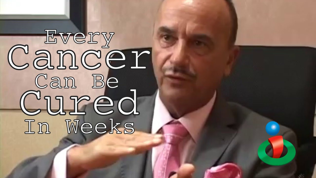 Bilderesultat for youtube every cancer can be cured in weeks