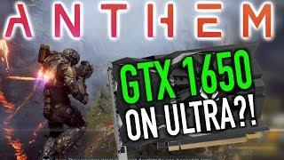 Anthem Medium Vs Ultra Gameplay on the GTX 1650