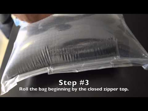 Travel Hacks: How to Pack Using Travel Roller Space Bags