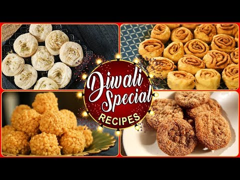 दिवाळी फराळ  | Top 10 Diwali Recipes | Diwali Faral Recipe | Diwali Special | Recipe In Marathi