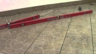 видео как положить плитку по диагонали