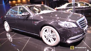 2019 Mercedes S560e Plug in Hybrid - Exterior and Interior Walkaround - 2018 Paris Motor Show