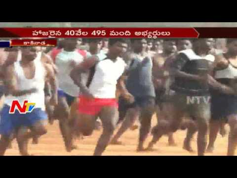 Indian Army Recruitment Rally Starts at Kakinada || India|| NTV