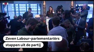 GROOT BRITTANNIË: Zeven Labour partijleden stappen op