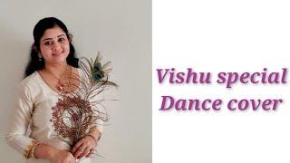 Mouliyil mayilpeeli charthi Vishu special dance cover Nandanam