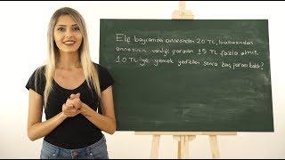 İşaret Dili ile Toplama ve Çıkarma İşlemi Problemleri #6   Anlatan Eller