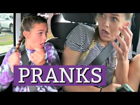 WE PRANK EMMA AND ELLIE ALL DAY TRY NOT TO LAUGH! ELLIE BRACES UPDATES!