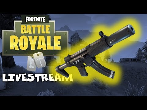 Is the SMG Good Now?? - Fortnite Battle Royale Xbox One X Gameplay - Livestream