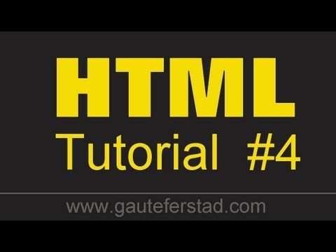 HTML Tutorial 04 Creating Unordered Lists And Changing The Type Of Bullet