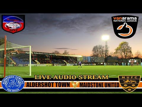 ALDERSHOT TOWN 1 - 0  MAIDSTONE UNITED | NATIONAL LEAGUE | LIVE AUDIO STREAM 2016