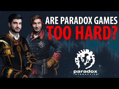 Are Paradox Games TOO Hard? - The Business of Video Games - Paradox Podcast