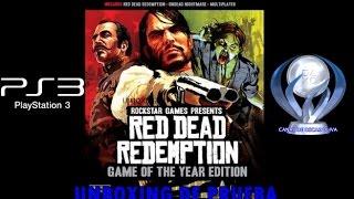 (UNBOXING DE PRUEBA) Red Dead Redemption GOTY (Español)
