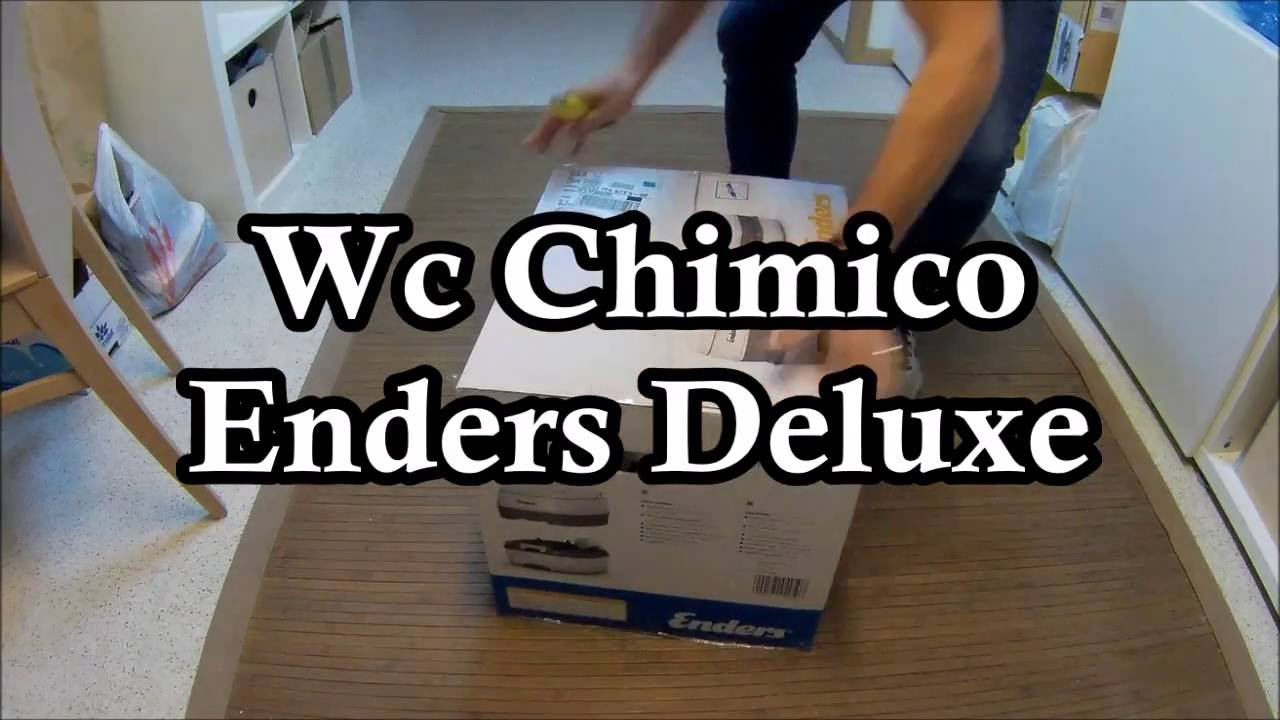 unboxing enders deluxe mobil wc ita