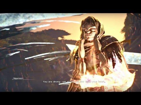 FINAL FANTASY XV - Gilgamesh Final Boss & Ending + Episode Prompto New Teaser | Episode Gladio DLC