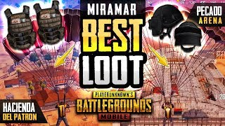 THE BEST LOOT LOCATIONS ON MIRAMAR - PUBG Mobile