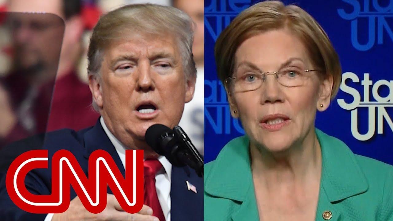 Warren slams Trump's 'Pocahontas' nickname as 'racial slur' - Dauer: 8 Minuten, 10 Sekunden