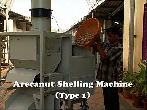 Arecanut Shelling Machines