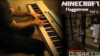 Minecraft Piano: Hal&Nuance - Key, Subwoofer Lullaby, Haggstrom, Living Mice [Sheet Music]