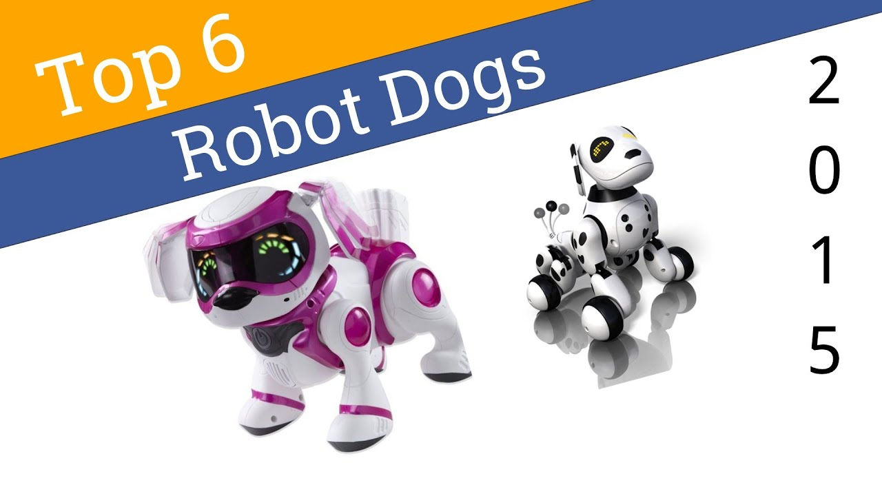 6 Best Robot Dogs 2015