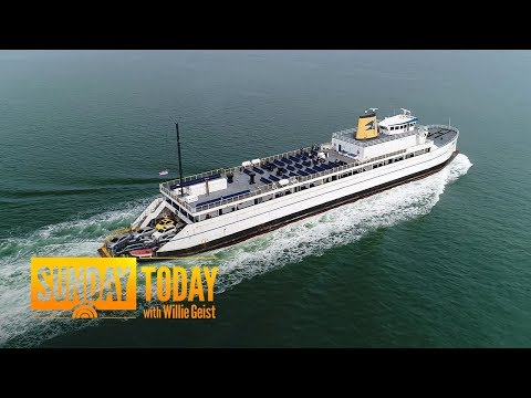 The Cape Henlopen Ferry Has An Incredible History Dating Back To WWII | Sunday TODAY