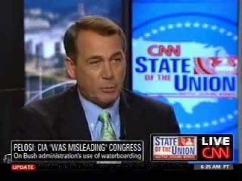 Boehner on CNN's State of the Union with John King - YouTube