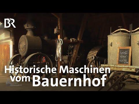 Oldtimer Vom Bauernhof: Mit Der Kartoffelmaschine Zum TÜV | Schwaben & Altbayern | BR