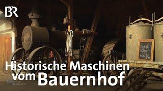 Oldtimer vom Bauernhof Mit der Kartoffelmaschine zum TV  Schwaben  Altbayern  BR