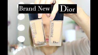 Dior Forever Matte & Skin Glow Foundation Review & Wear Test