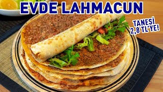 "The Most Crispy ""Homemade"" Lahmacun Recipe Ever! 💥 How to Make Lahmacun without Using Oven?"