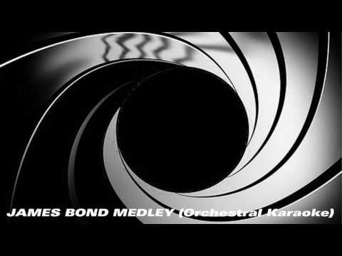 James Bond Orchestral Medley Karaoke Instrumental