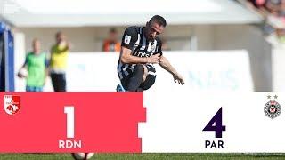 Superliga Srbije | RADNIČKI - PARTIZAN 1:4 | Highlights