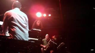 quarteto tempo + vinícius dorin + cristina campos. - sesc pompéia - jazz na fábrica.