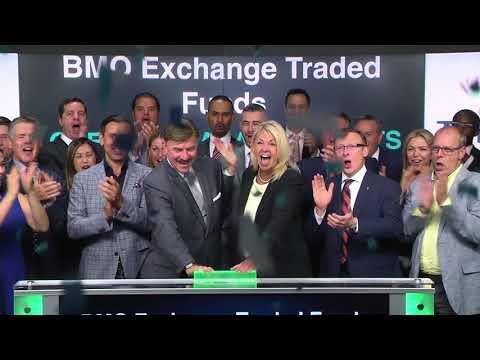 BMO Exchange Traded Funds opens Toronto Stock Exchange, May 25, 2018