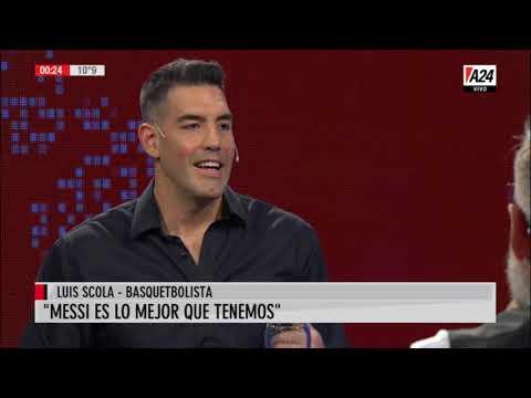 El antiargentino: Messi según Luis Scola