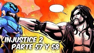 """INJUSTICE 2 """"LOS NUEVOS JOVENES TITANES. LOBO Y ESCARABAJO AZUL"""" Parte 57 y 58 @SoyComicsTj"""