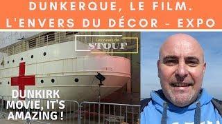 Expo : l'envers du décor du film Dunkerque de Christopher Nolan. Exhibition Dunkirk