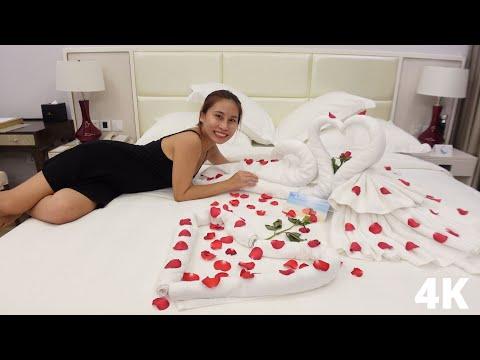 5 Star Hotel Nha Trang Vinpearl Condotel Vietnam 🇻🇳  [Super Mega 4K]