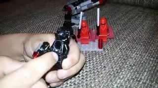 Обзор на набор Lego Star Wars Воины Звезды Смерти, арт. 75034