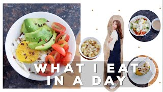 WHAT I EAT IN A DAY - RELITA LESTARIA