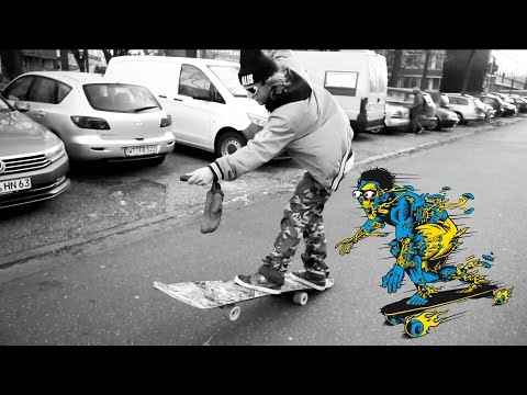 Electric Skateboard meets Snowboard - Wild and Style Hamburg