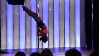 Cassandra's Performance at Ontario Pole Dance Competition 2014 Hamilton