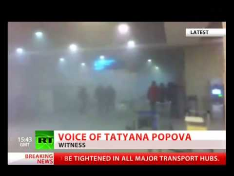 Terrorist Attack At Moscow Air Port