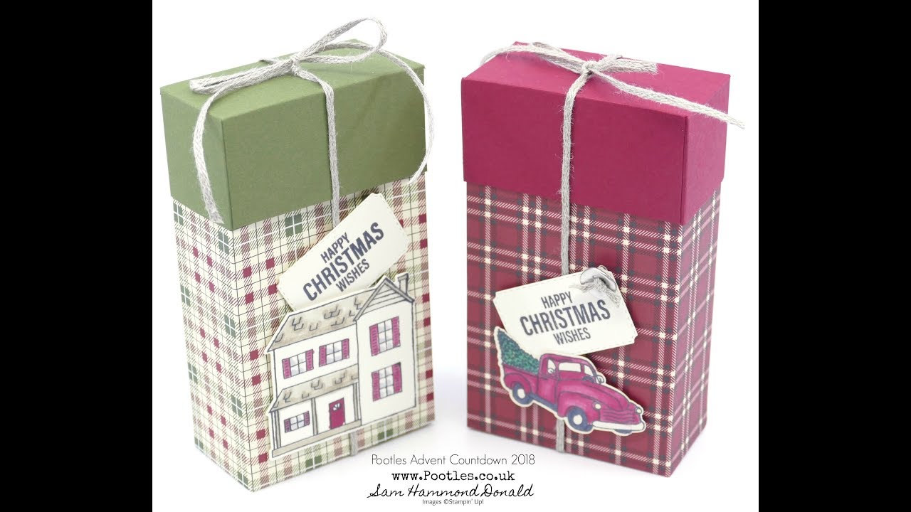 pootles advent countdown 2018 4 festive farmhouse lidded. Black Bedroom Furniture Sets. Home Design Ideas